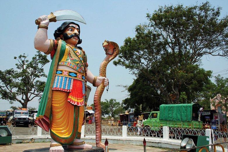 Mahishasura-Goddess-Chamundi-Mysuru