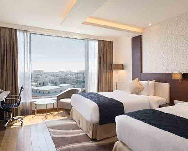 Twin-Deluxe-Rooms-accommodation-hotel-near-Manyata-tech-park
