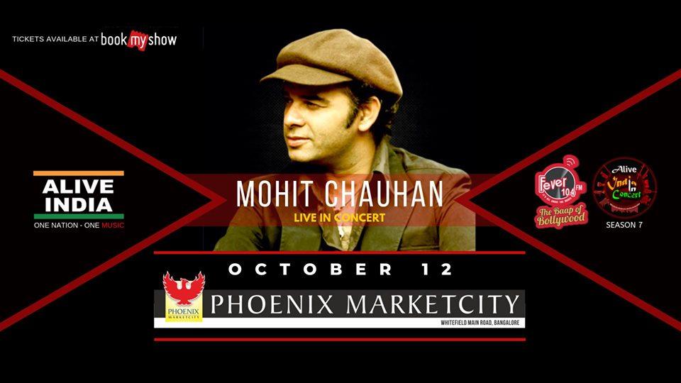Alive India Concert Season 7 Mohit Chauhan Live in Bengaluru
