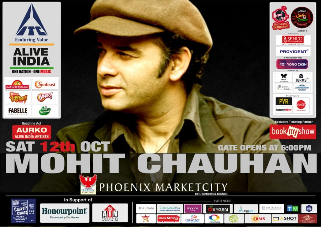 Mohit-Chauhan-Live-12-Oct-Alive-India-Phoenix-Market-City