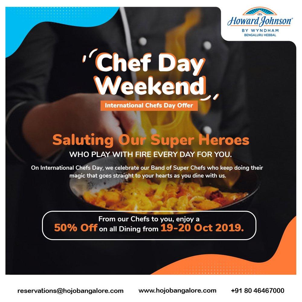 International Chef Day Offer 2019