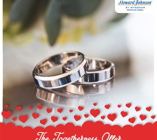 The-Togetherness-Offer---Wedding-Anniversary-Offer--Celebrate-Relationships-at-Howard-Johnson-Hotel-Hebbal-Bengaluru