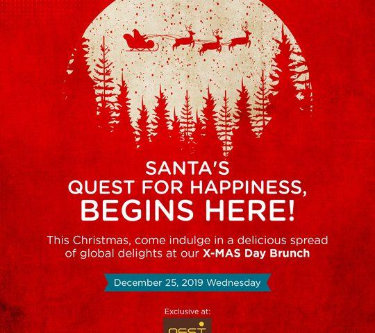 Christmas Brunch at Nest near Manyata Tech Park