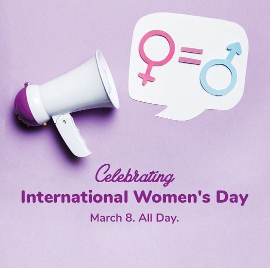 International Women's Day Dining - 50% Off Offer