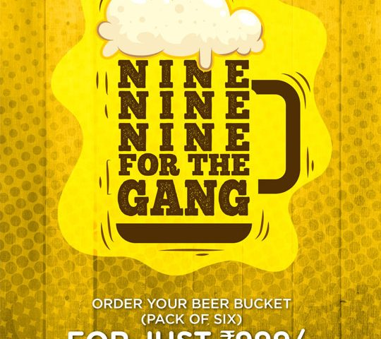 Beer-Bucket-Offer-Howard-Johnson-Bengaluru-Hebbal-Bar-Offers