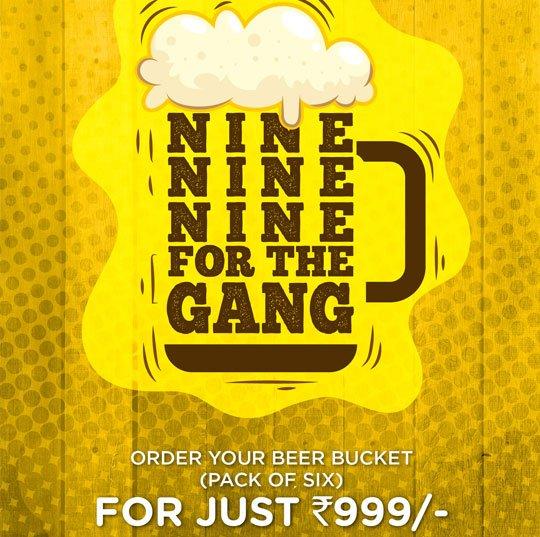 Beer bucket Offer