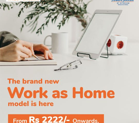 Workcation package in Bangalore
