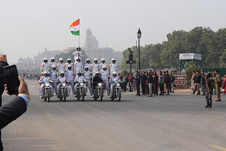 Happy Republic day 2021 the annual parade in Delhi from the team of Howard Johnson Bengaluru