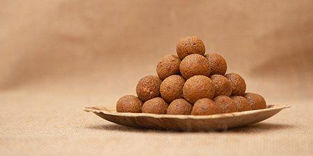 Til laddoo sankranti special food in Karnataka at Nest in Howard Johnson Bengaluru