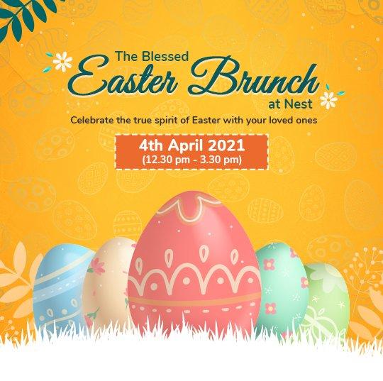 Easter Brunch in Bengaluru Howard Johnson Bangalore Hebbal